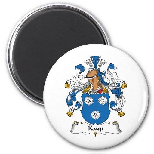 Escudo de la familia de Kaup Imán De Nevera