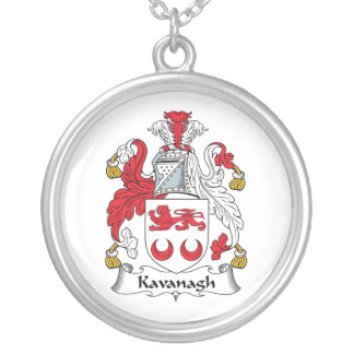Escudo de la familia de Kavanagh Colgante Redondo