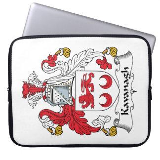 Escudo de la familia de Kavanagh Funda Computadora