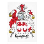 Escudo de la familia de Kavanagh Invitación