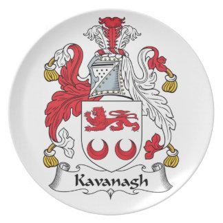 Escudo de la familia de Kavanagh Platos