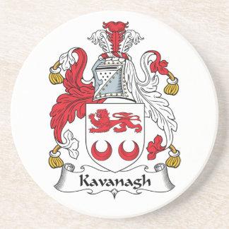 Escudo de la familia de Kavanagh Posavasos Personalizados
