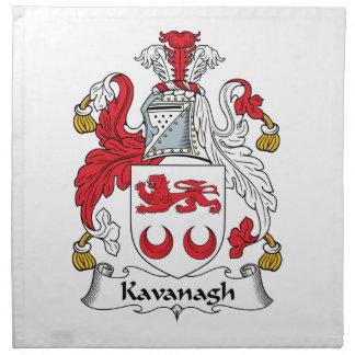 Escudo de la familia de Kavanagh Servilleta De Papel