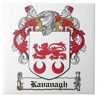 Escudo de la familia de Kavanaugh Azulejo Cuadrado Grande