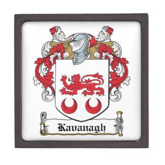 Escudo de la familia de Kavanaugh Cajas De Recuerdo De Calidad