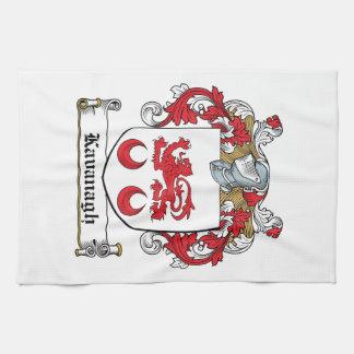 Escudo de la familia de Kavanaugh Toallas De Cocina