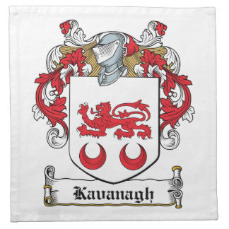 Escudo de la familia de Kavanaugh Servilleta De Papel