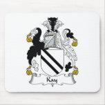 Escudo de la familia de Kay Alfombrilla De Ratón