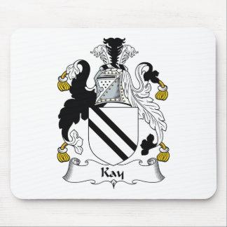 Escudo de la familia de Kay Tapete De Ratones