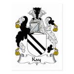 Escudo de la familia de Kay Tarjetas Postales