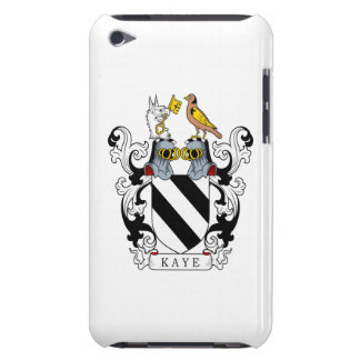 Escudo de la familia de Kaye Carcasa Para iPod