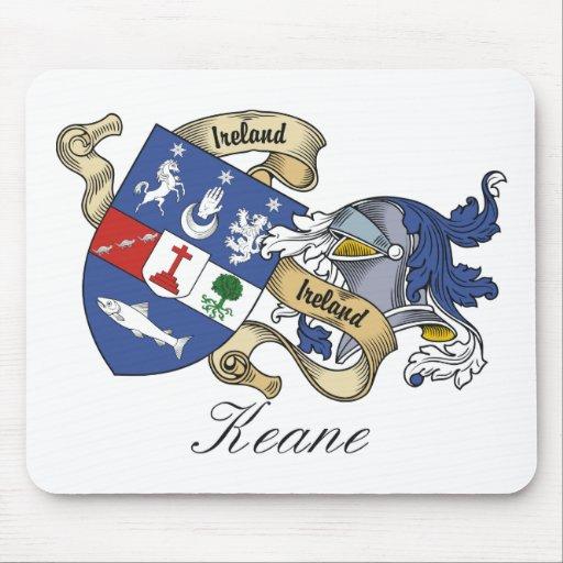 Escudo de la familia de Keane Tapetes De Raton