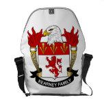Escudo de la familia de Kearney Bolsas Messenger