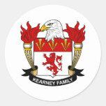 Escudo de la familia de Kearney Etiquetas