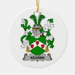 Escudo de la familia de Kearns Ornamento De Reyes Magos