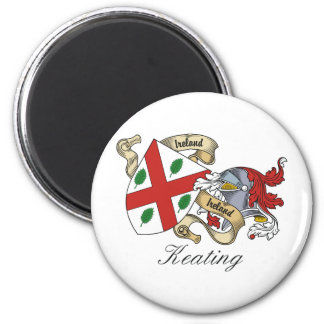 Escudo de la familia de Keating Imán Para Frigorifico