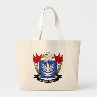 Escudo de la familia de Keayne Bolsa Lienzo