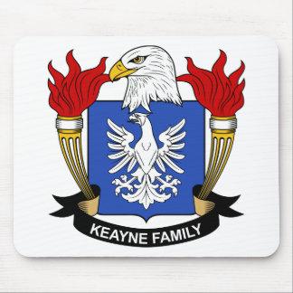 Escudo de la familia de Keayne Tapete De Raton