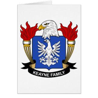 Escudo de la familia de Keayne Tarjetón