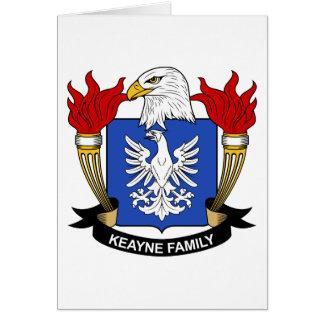 Escudo de la familia de Keayne Tarjeton