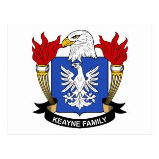 Escudo de la familia de Keayne Postal