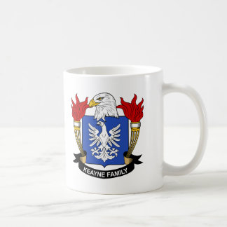 Escudo de la familia de Keayne Taza De Café