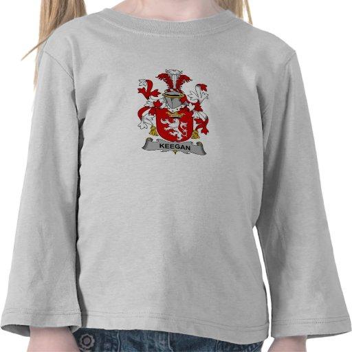 Escudo de la familia de Keegan Camisetas