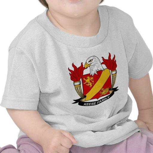 Escudo de la familia de Keese Camiseta