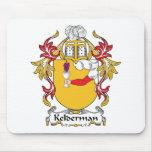 Escudo de la familia de Kelderman Alfombrilla De Raton