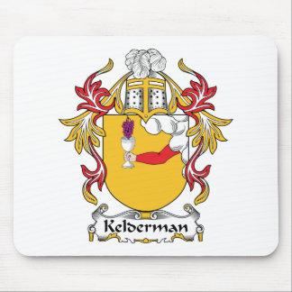 Escudo de la familia de Kelderman Alfombrillas De Ratón