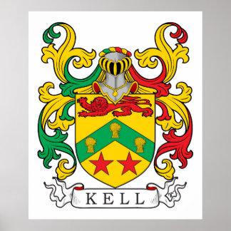 Escudo de la familia de Kell Póster