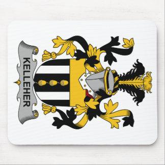 Escudo de la familia de Kelleher Mousepads