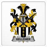 Escudo de la familia de Kelleher Reloj