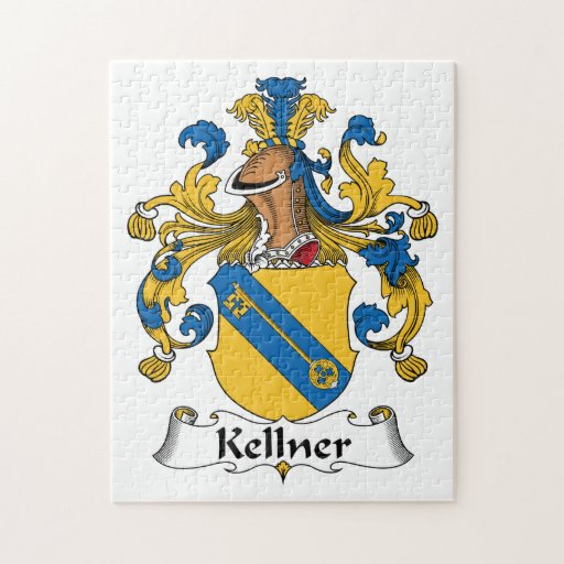 Escudo de la familia de Kellner Rompecabezas