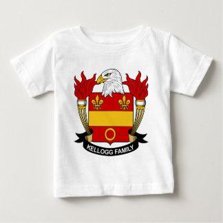 Escudo de la familia de Kellogg Playera De Bebé