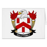 Escudo de la familia de Kelly Tarjeton