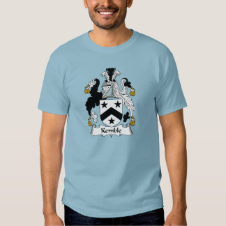 Escudo de la familia de Kemble Camisas