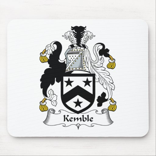 Escudo de la familia de Kemble Alfombrilla De Ratón