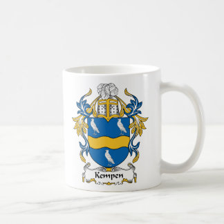 Escudo de la familia de Kempen Tazas De Café
