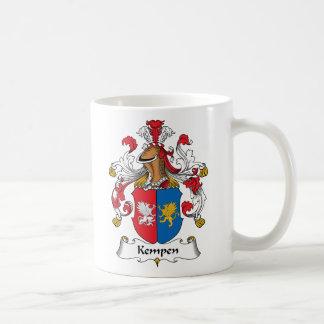 Escudo de la familia de Kempen Taza De Café