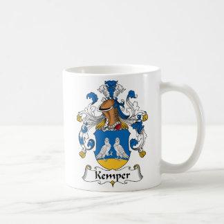 Escudo de la familia de Kemper Tazas