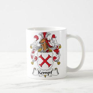 Escudo de la familia de Kempf Taza