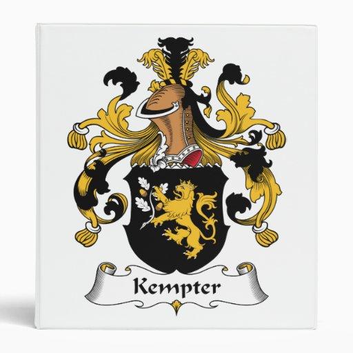 Escudo de la familia de Kempter
