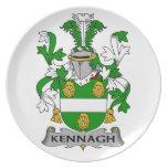 Escudo de la familia de Kennagh Plato