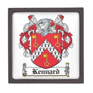Escudo de la familia de Kennard Cajas De Regalo De Calidad