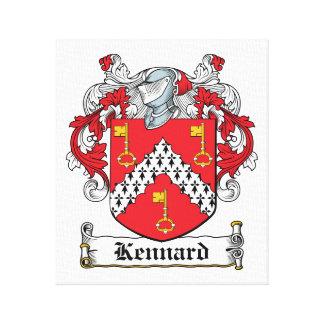 Escudo de la familia de Kennard Impresiones En Lona Estiradas