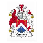 Escudo de la familia de Kennard Postal