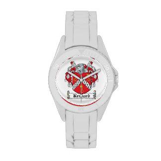 Escudo de la familia de Kennard Reloj De Mano