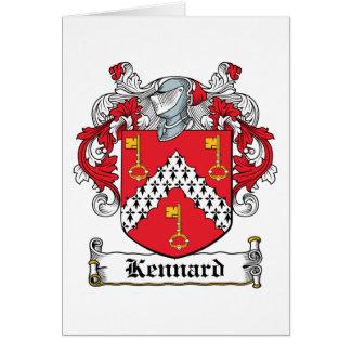 Escudo de la familia de Kennard Tarjetas