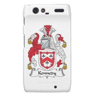 Escudo de la familia de Kennedy Motorola Droid RAZR Carcasas